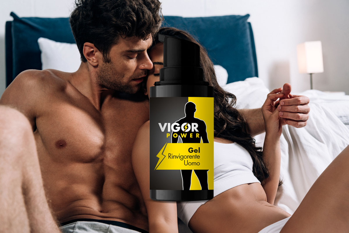 vigor power gel rinvigorente uomo